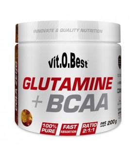 GLUTAMINA + BCAA COMPLEX - 200 GR