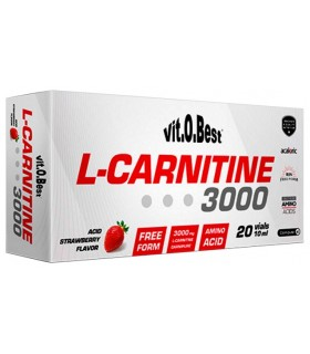 L-CARNITINE 3000 - 20 VIALES - 10 ML